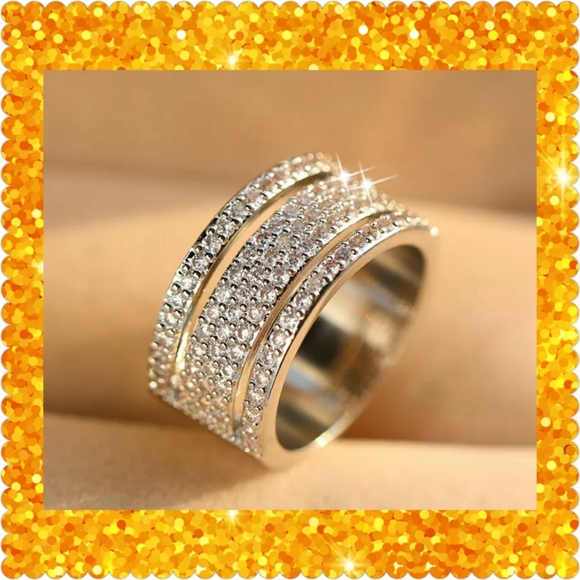 Boutique Jewelry - 🌟JUST IN🌟Luxury 14K White Gold Filled